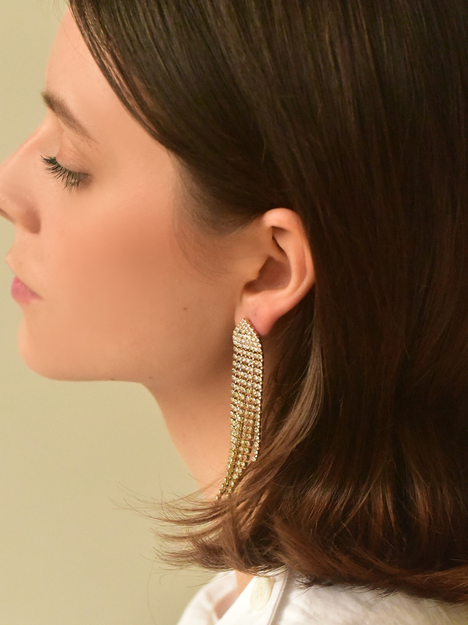 [*Holiday Mood*] shiny chandelier earring