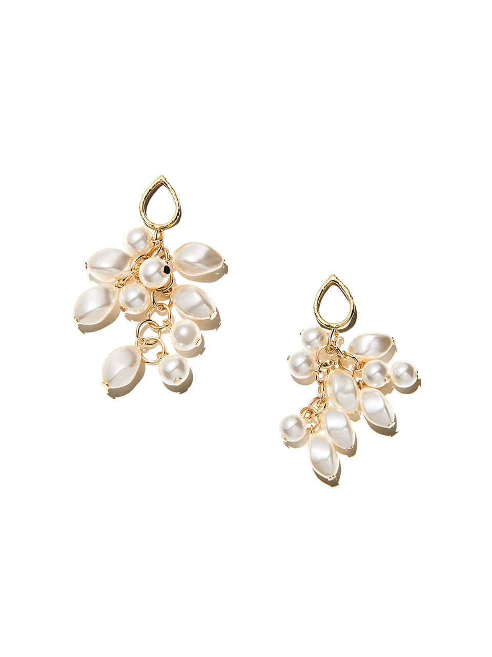 [*Holiday Mood*][오승아 착용] pearl bouquet drop earring